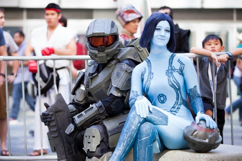 Cortana and Chief 1